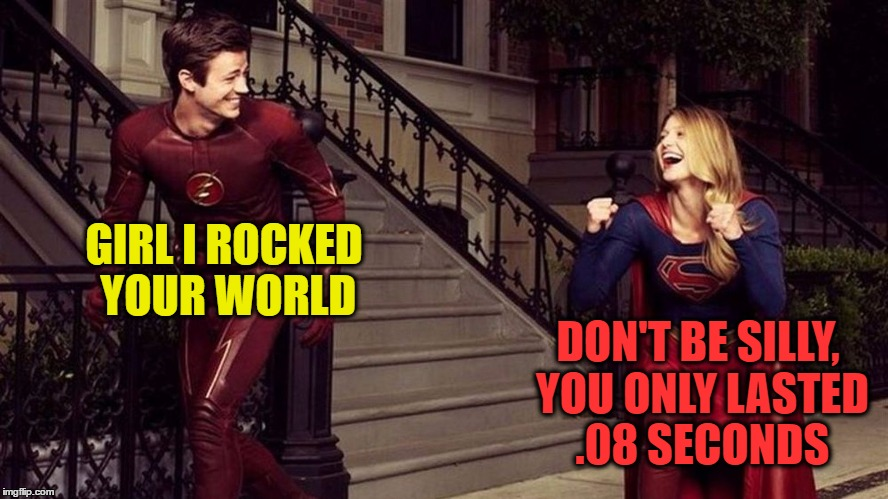 27 Flash Vs Supergirl Memes That Are Just Too Funny-7385