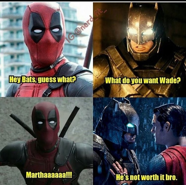 20 Deadpool Vs Justice League Memes Will Begin Hysterically