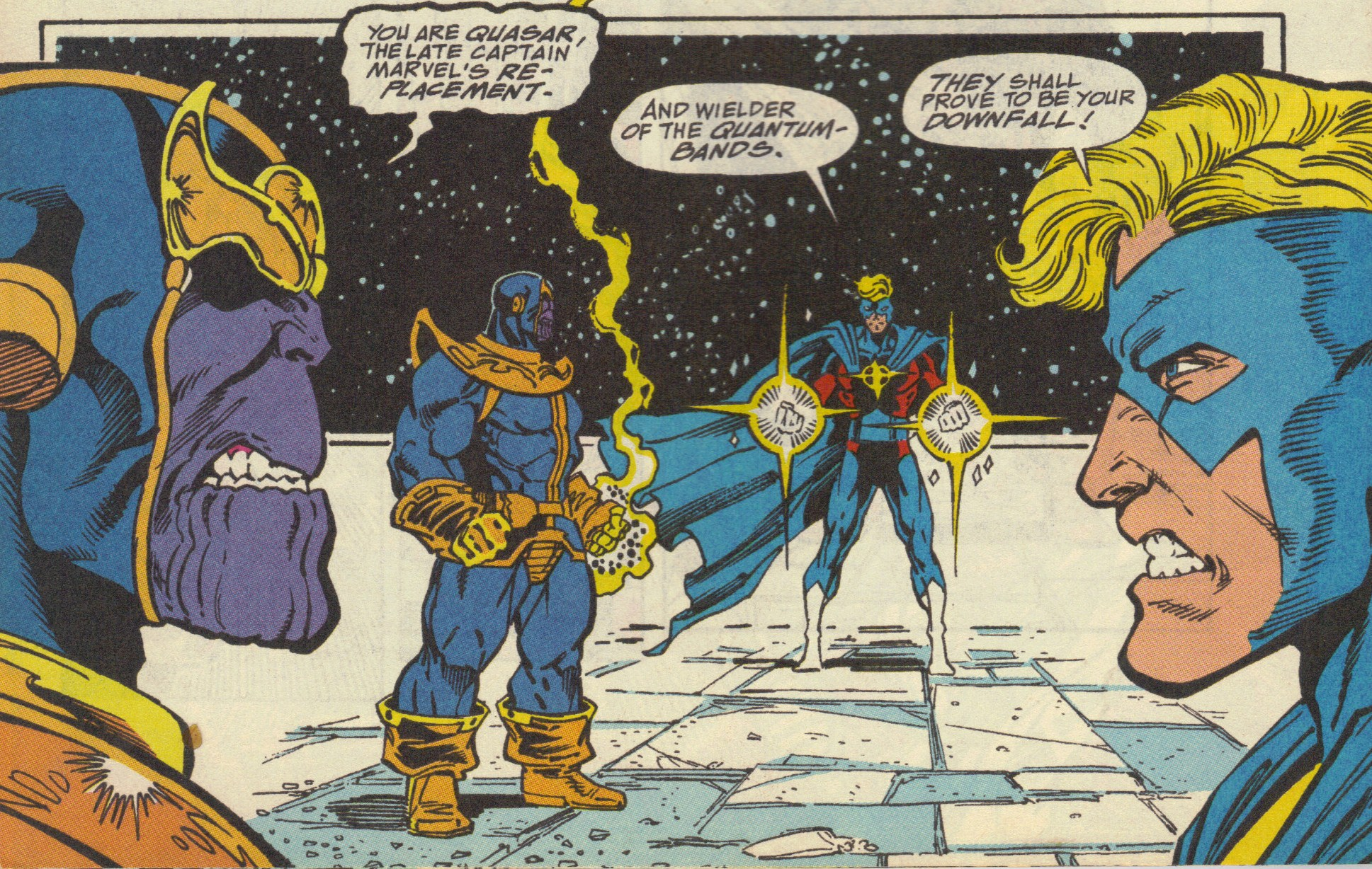 Captain America Has Fought With Thanos In Comic Books And It Was