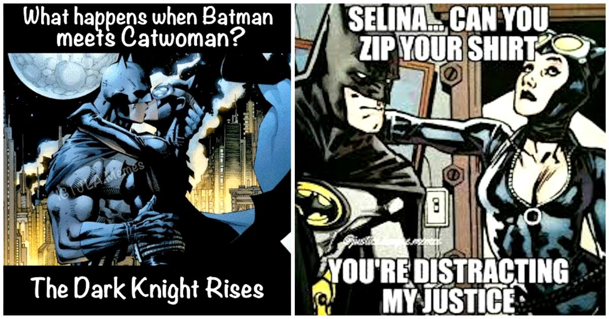 15 Funny Batman Vs Catwoman Memes Prove That They Are The Best