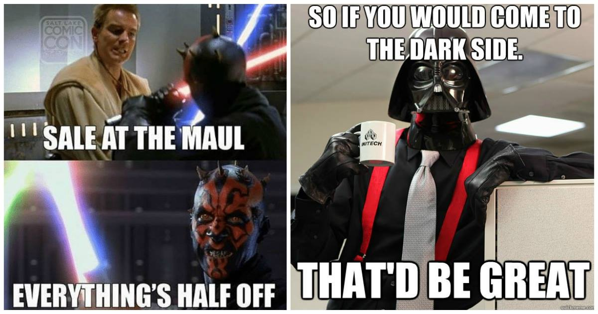 15 Smart And Funny Sith Memes That Will Get You In Tears Best Of Comic Books
