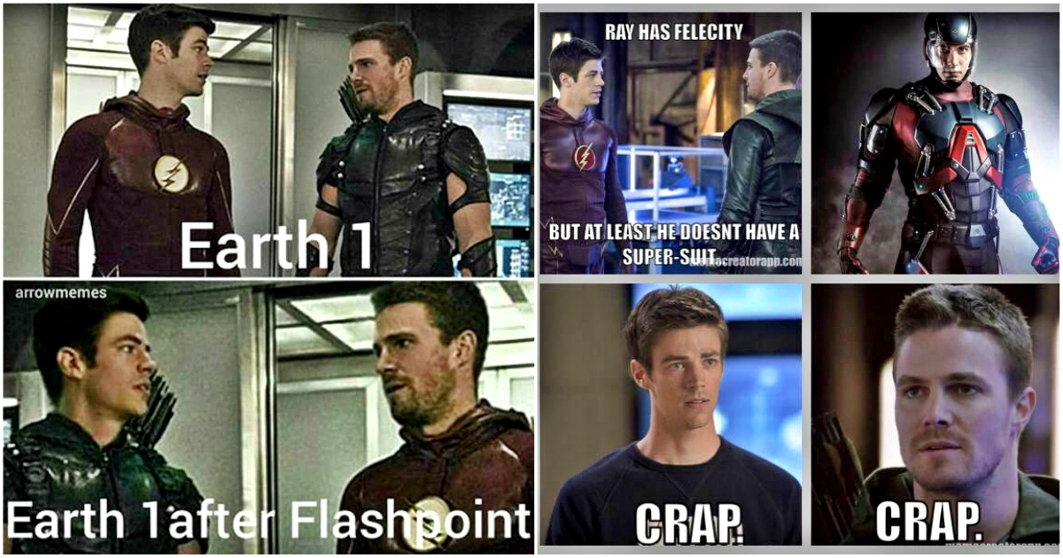 Funniest Arrow Vs Flash Memes That Will Make You Laugh Out Loud