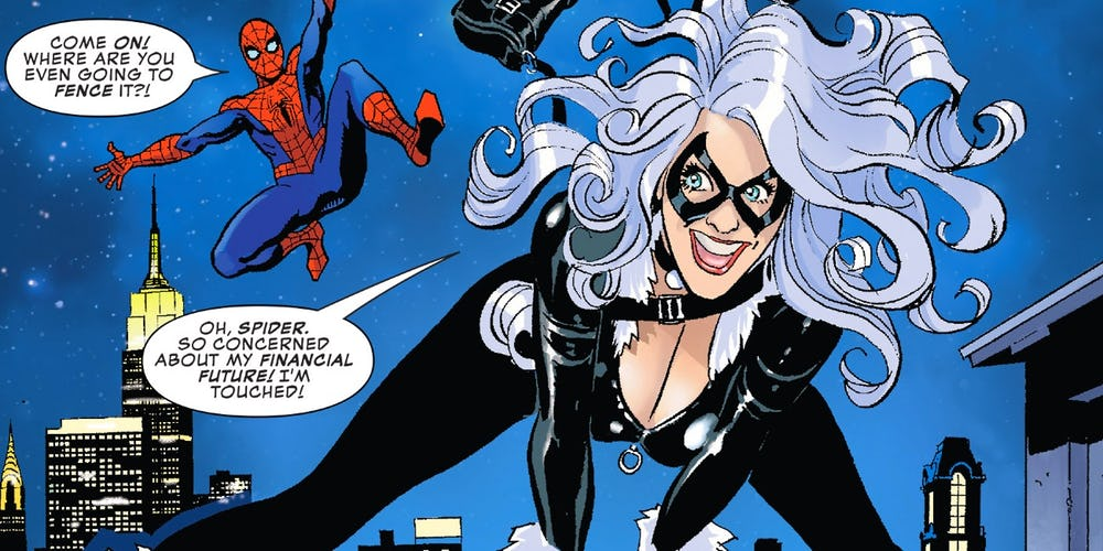 Black Cat Proposes To Spiderman And His Reply
