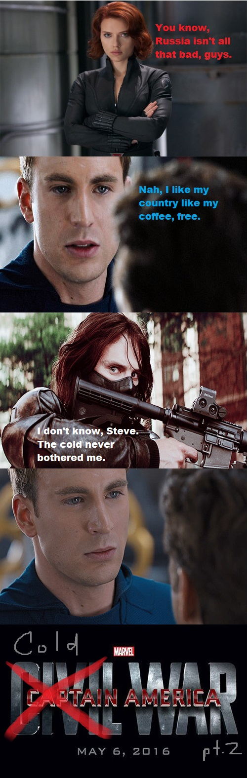 35 Funniest Captain America And Winter Soldier Memes