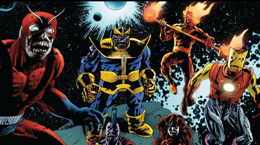 The Craziest Thanos Versions From Alternate Reality