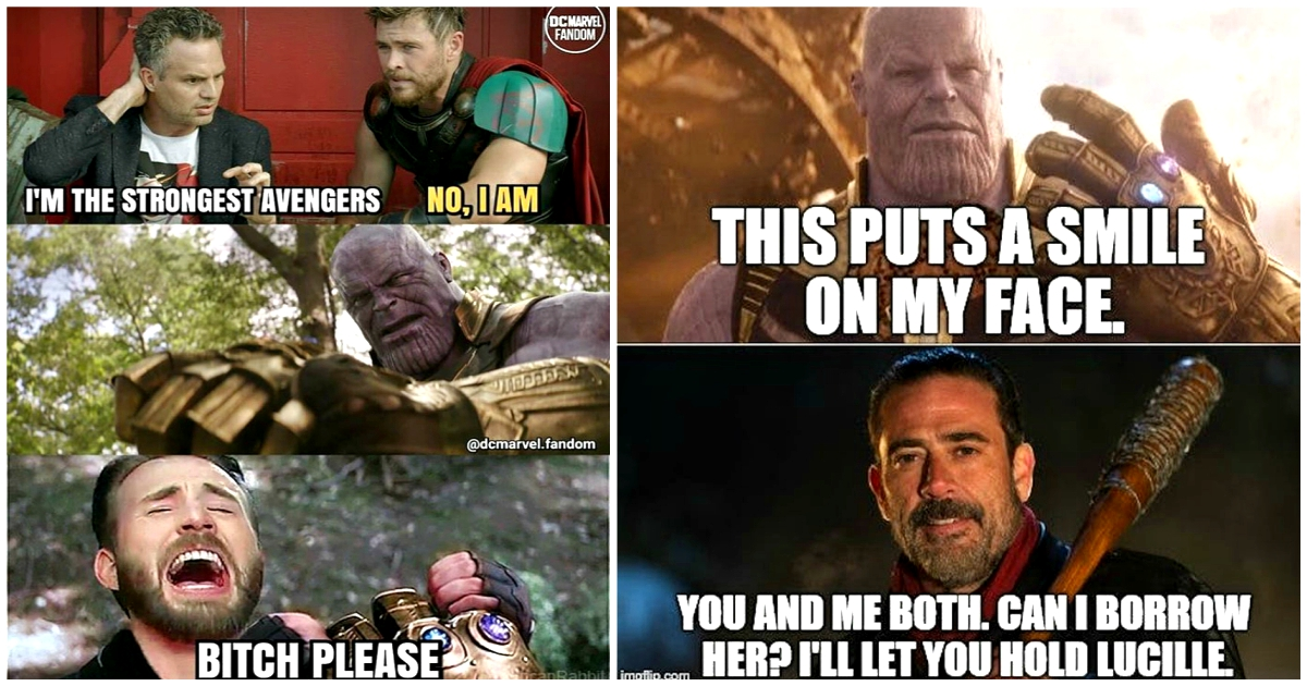 The 25 Most Hilarious Thanos Memes For Real Mcu Fans