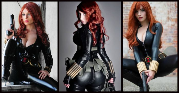 18 Breath-Taking Black Widow Cosplays Will Get You Hyped -8178