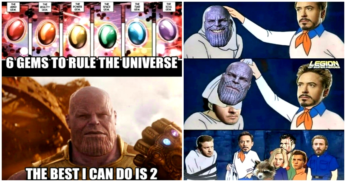 25 Avengers Memes To Prove Thanos Would Be Defeated