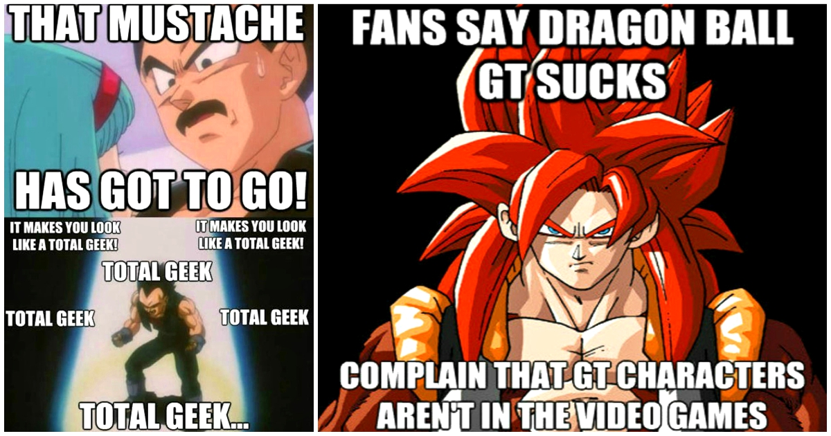 Incredibly Funny Memes Which Highlight Why Dragon Ball Gt Is Terrible