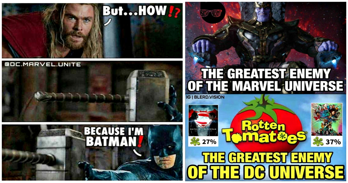 15 Dank And Hilarious Marvel Vs Dc Memes Best Of Comic Books