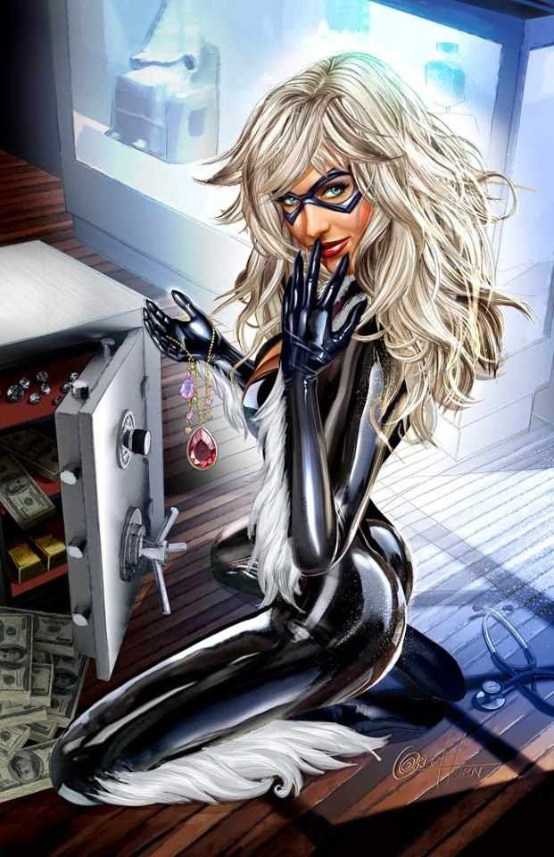 Black Cat Back