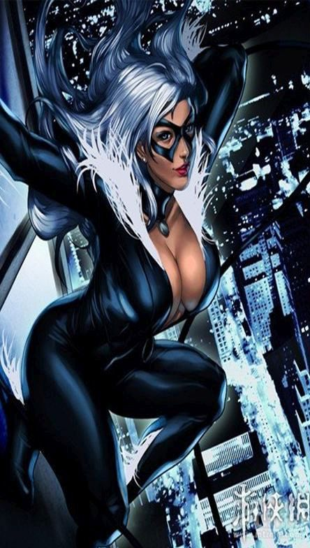 Black Cat Sexy Look