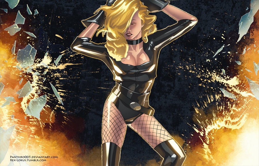 Black Canary Flying