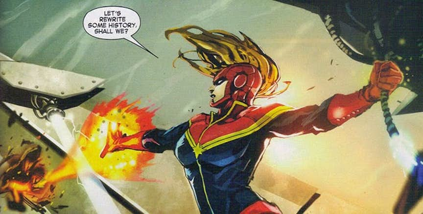 16 Super Powers Of Captain Marvel That Puts Superman To Shame