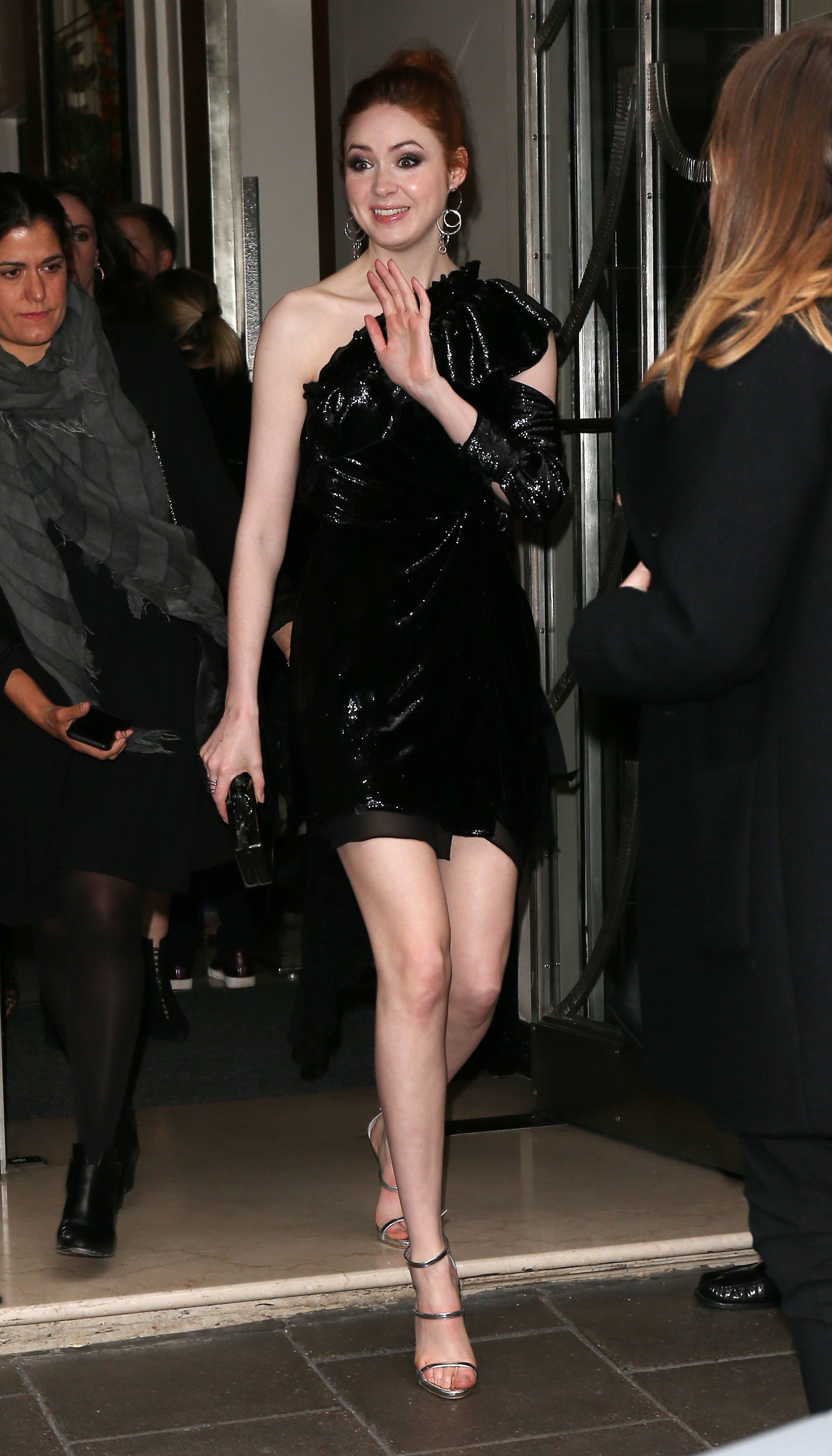 Karen Gillan Party