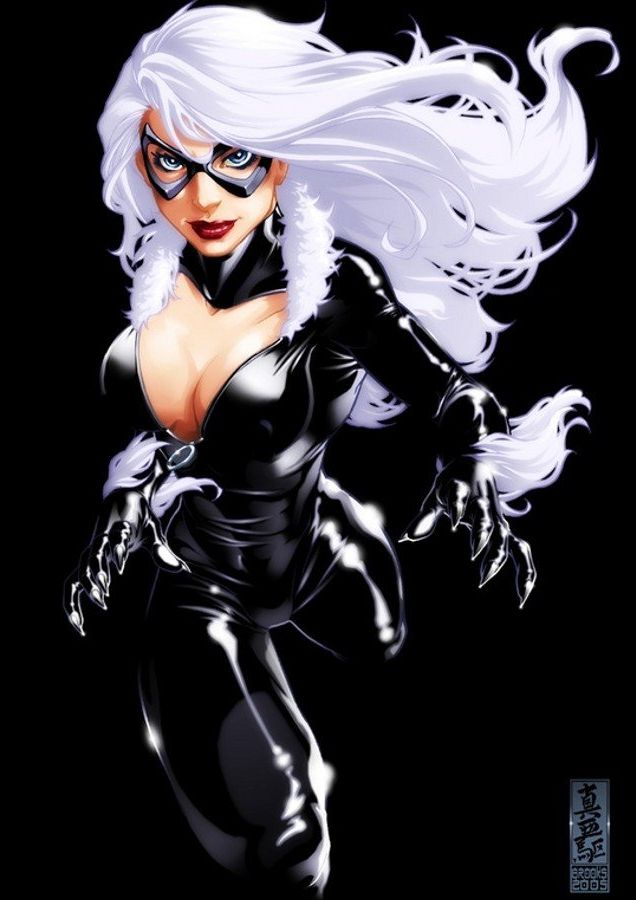 Black Cat Hottie Look