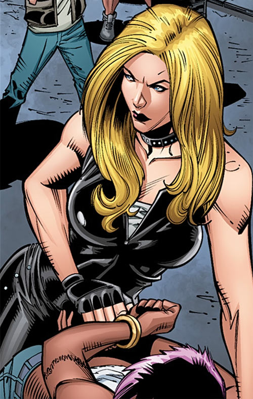 Black Canary Angry Face