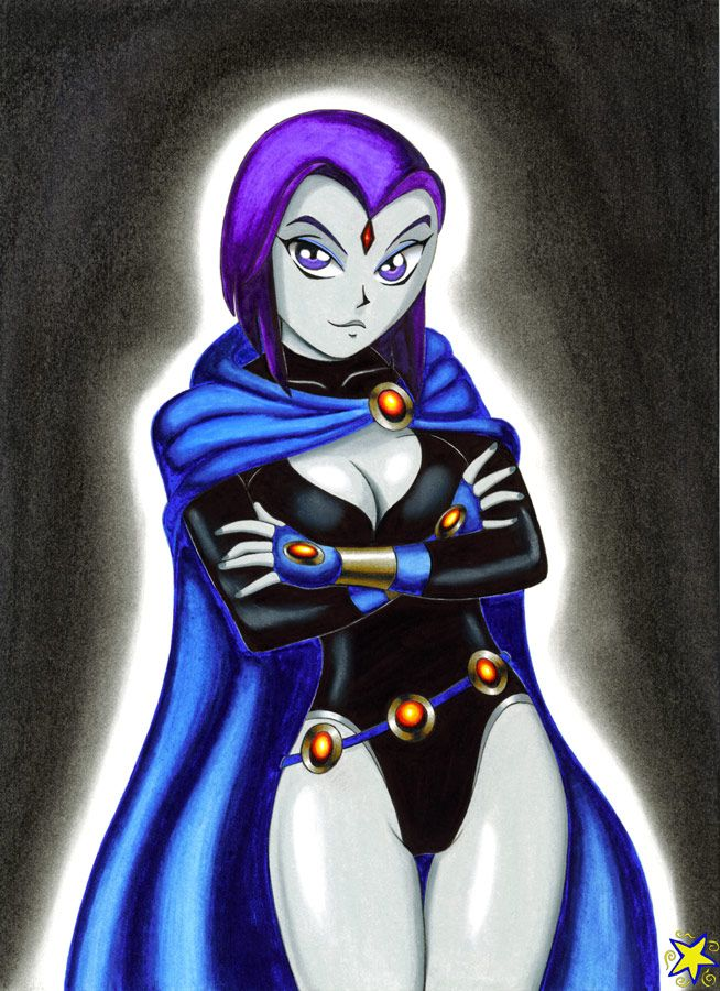 Raven Cleavage