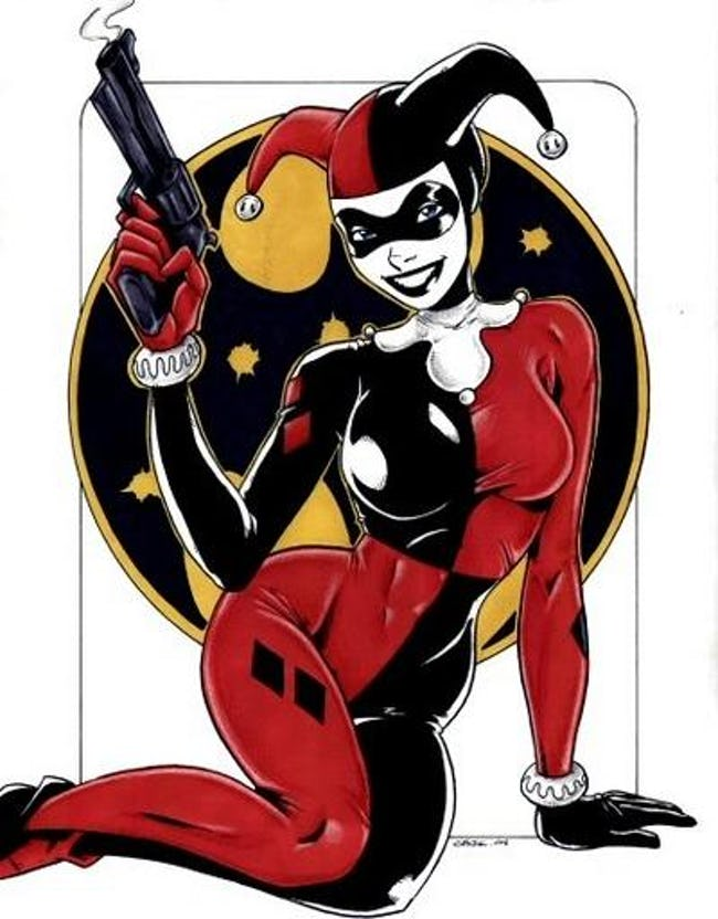 30 Hot Pictures Of Harley Quinn From DC Comics