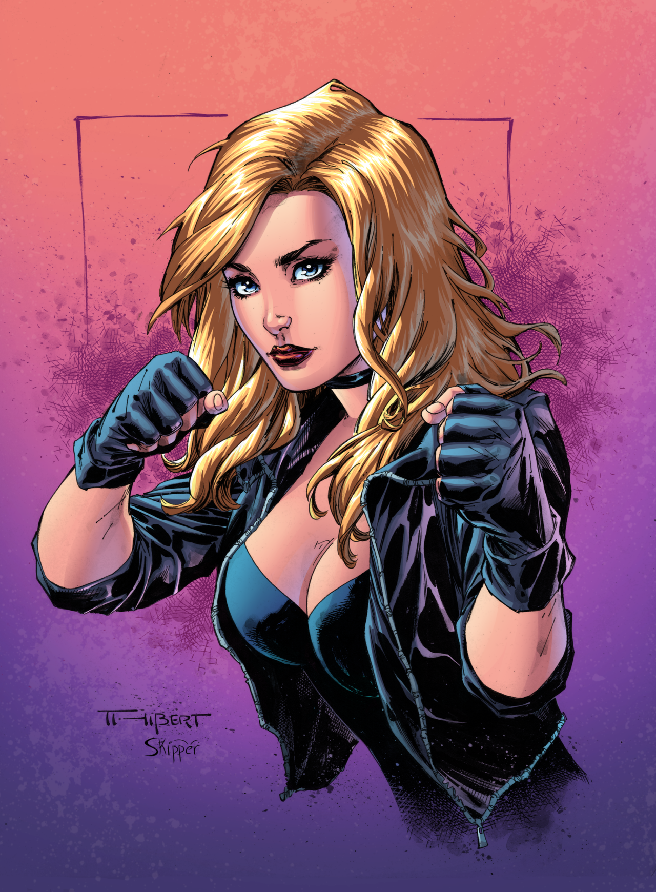 Black Canary Boxing