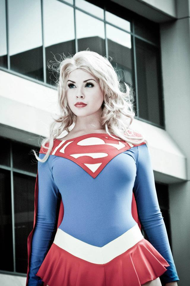 Are Sexy cosplay supergirl hot mine