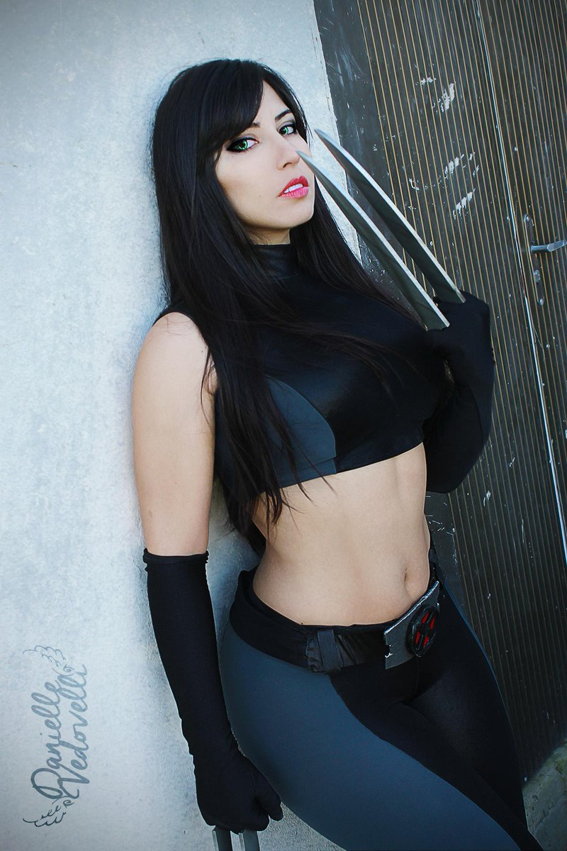 X-23 Cosplays Hot Black