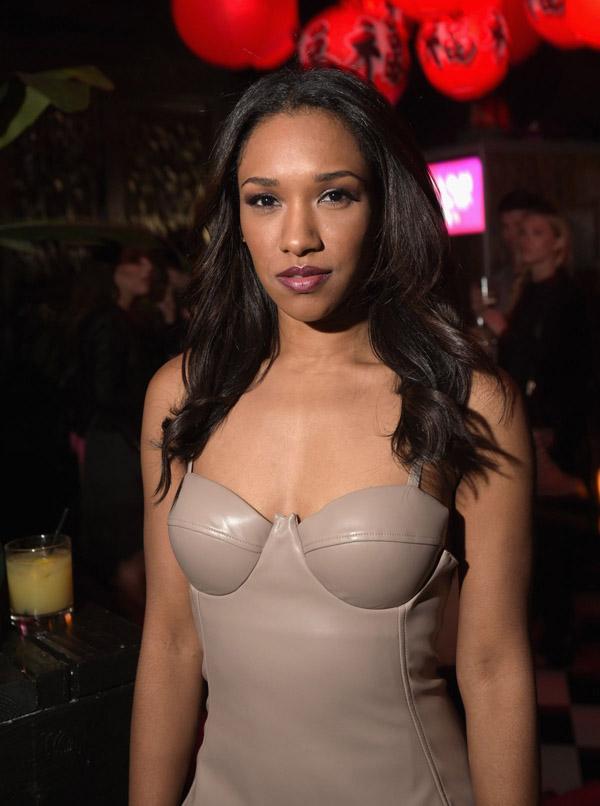 Candice Patton Lips