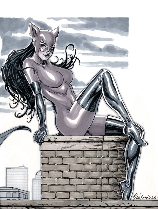 Catwoman pink outfit