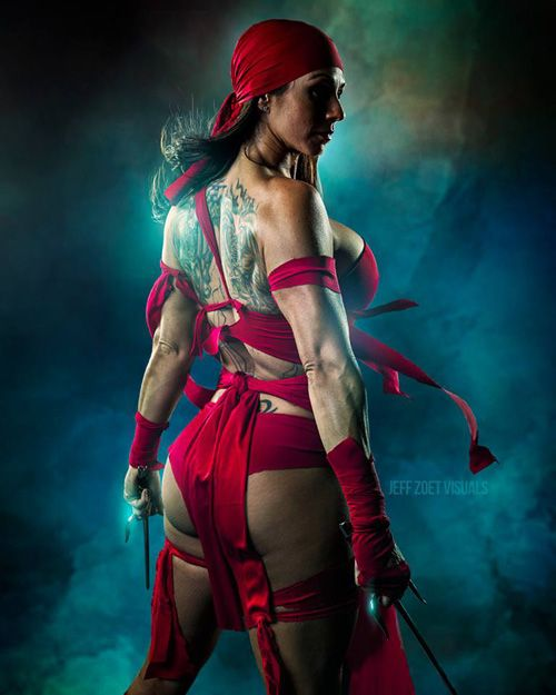 Elektra Cosplays Sexy & Hot Pictures