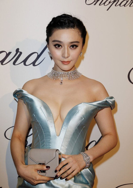 Fan Bing Bing Cleavage