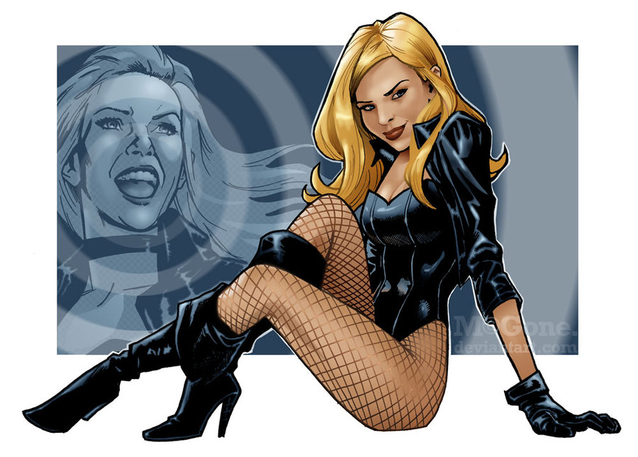 Black Canary Smile