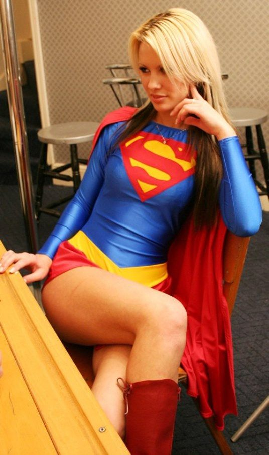Think, Sexy cosplay supergirl hot