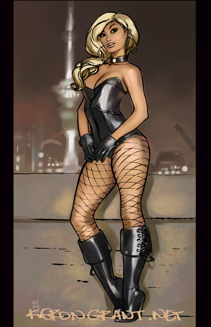 Black Canary Rooftop