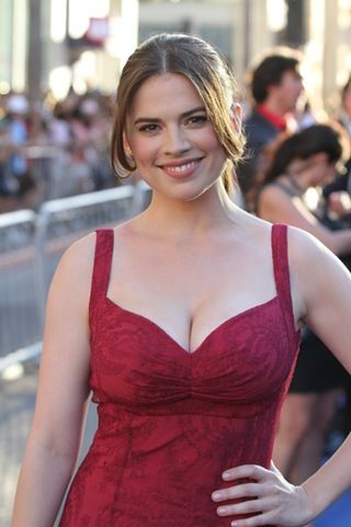 Hayley Atwell travel pics
