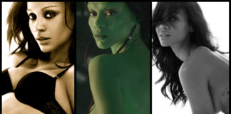 35 Hot Pictures Of Zoe Saldana Gamora