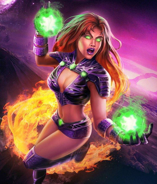 Starfire Hottie Look