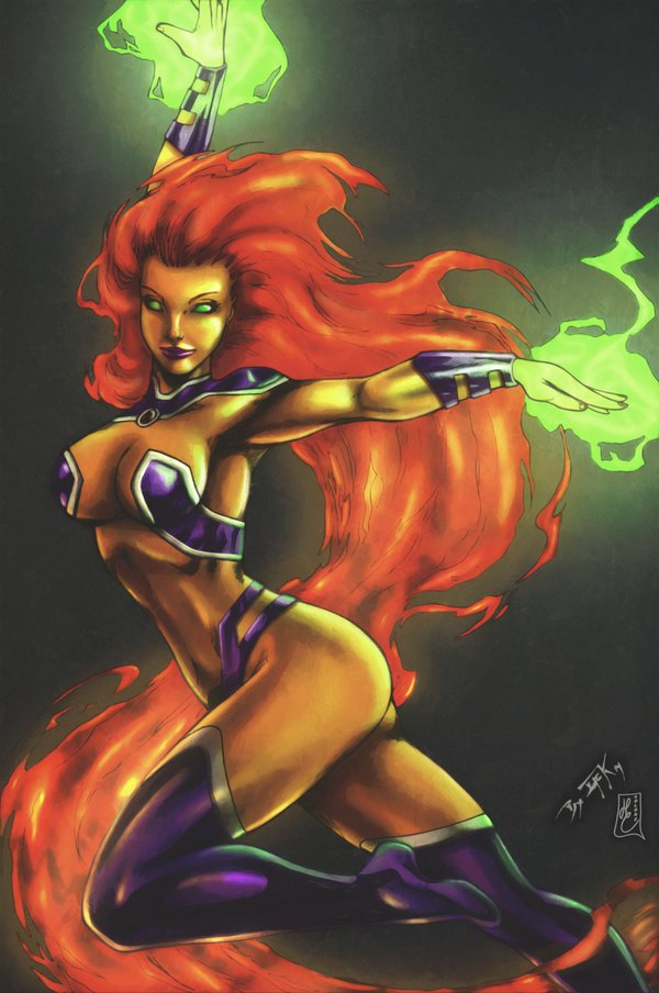 Starfire Mind-Blowing