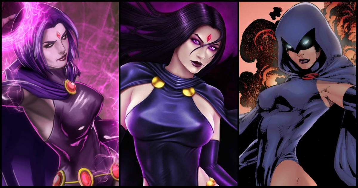 35 Hot Pictures Of Raven From Teen Titans, Dc Comics-2913