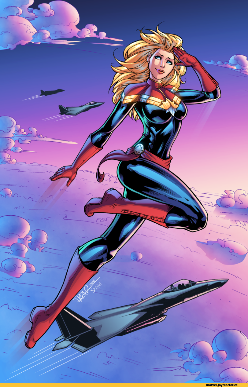 Captain Marvel Sexy Pictures