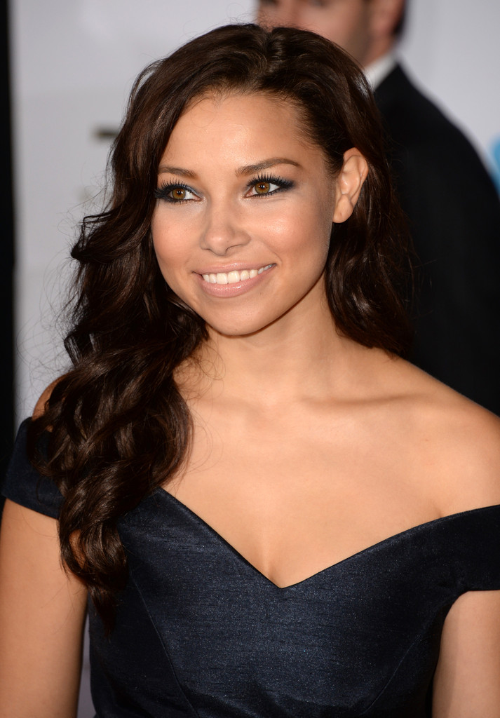Jessica Parker Kennedy Hot in Black