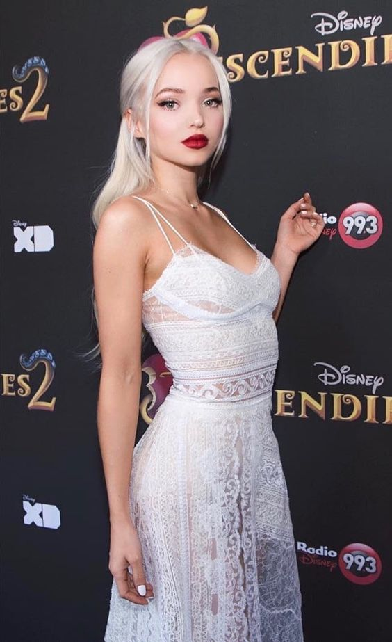 Dove Cameron Red Lips