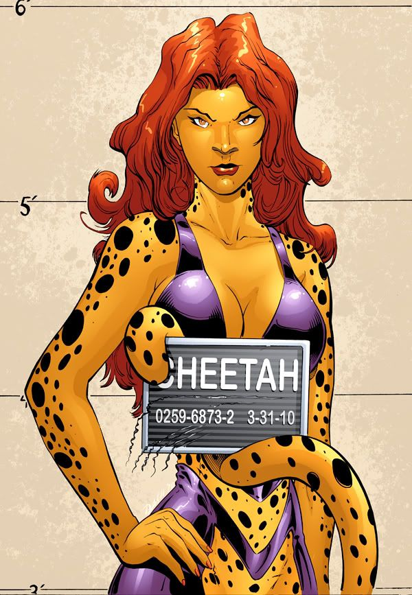 Cheetah Cleavage