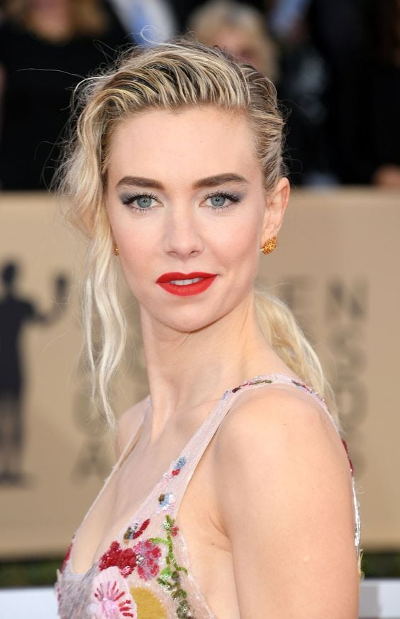 Vanessa Kirby Red Lips