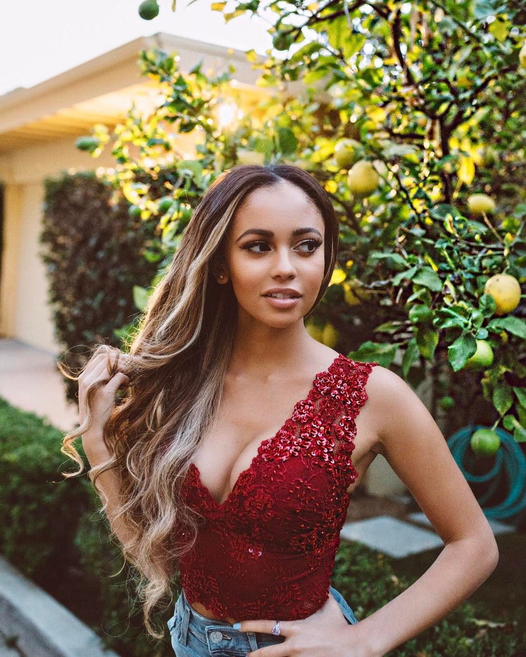 Vanessa Morgan on Photoshoot