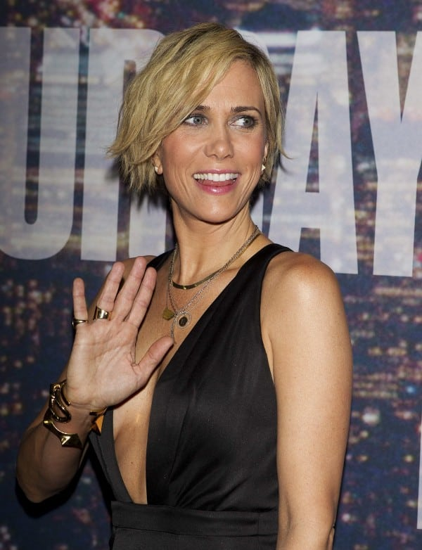 Kristen Wiig in Black Dress