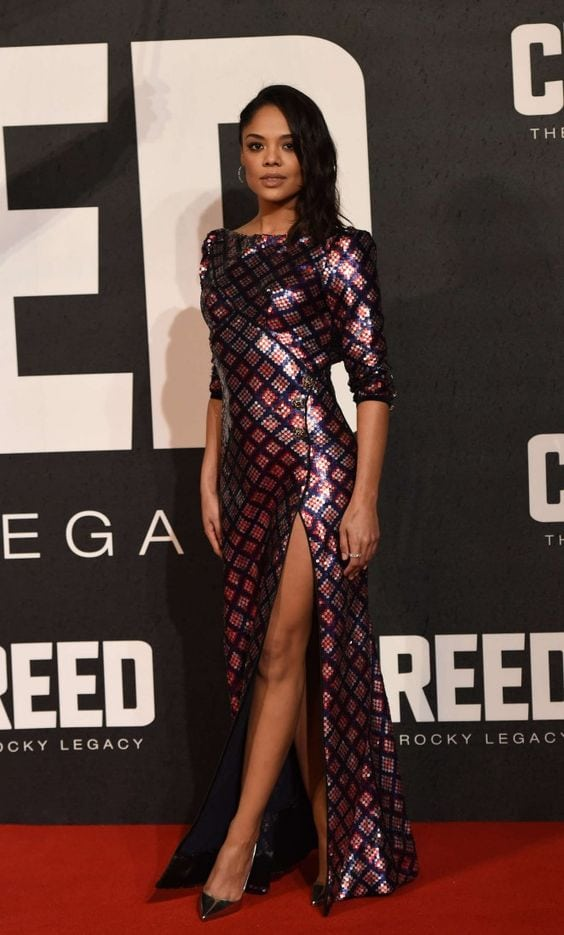 Tessa Thompson on Red Carpet