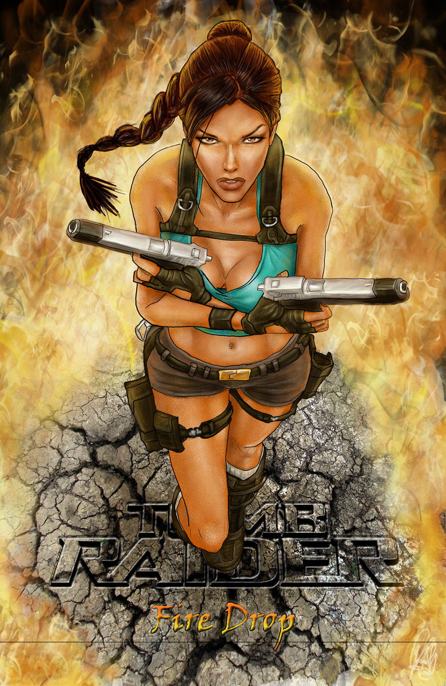 24 Hot Pictures Of Lara Croft - The Hottest Video Game