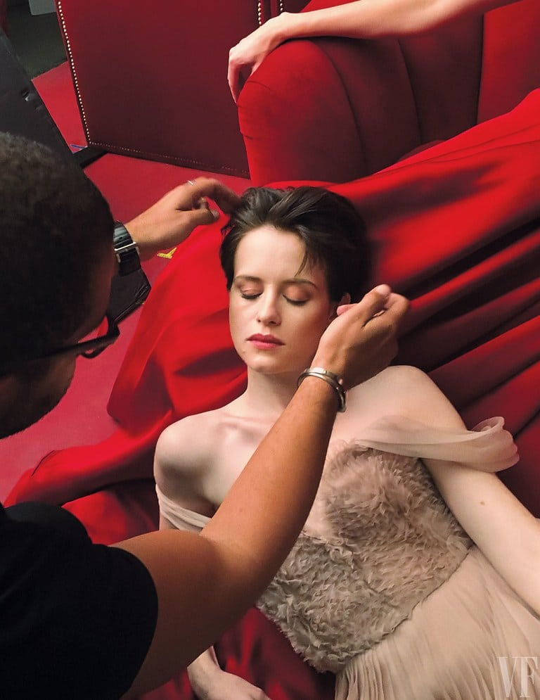Claire Foy on Make up