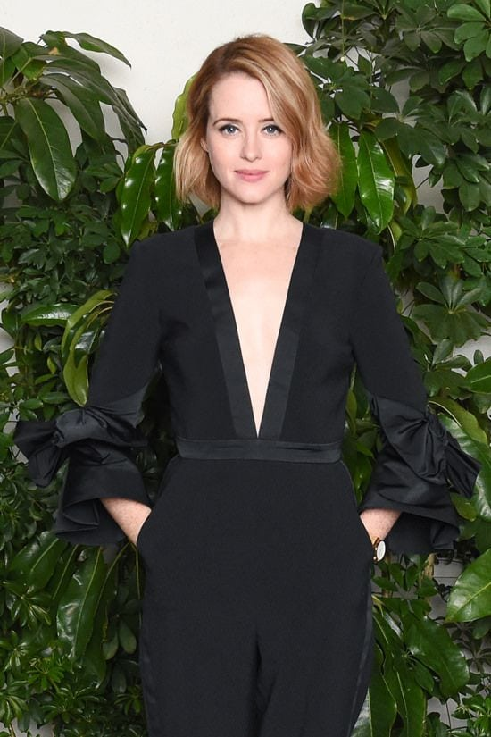 Claire Foy in Black