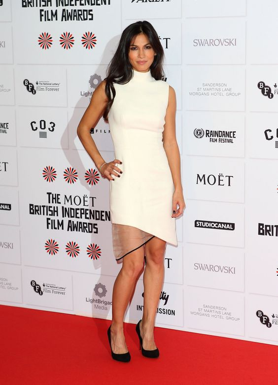 Elodie Yung in White